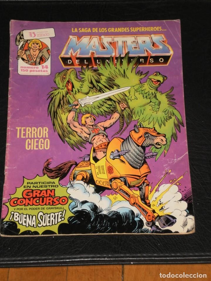 Cómics: MASTERS DEL UNIVERSO - Nº 14 - / EDICIONES ZINCO - Foto 2 - 198102023