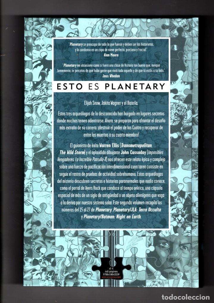 Cómics: PLANETARY 2 - ECC / DC / TAPA DURA / WARREN ELLIS / NUEVO DE EDITORIAL - Foto 2 - 220553367