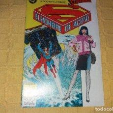 Cómics: SUPERMAN.EL HOMBRE DE ACERO.NUMERO 2.EDICIONES ZINCO.. Lote 184047775