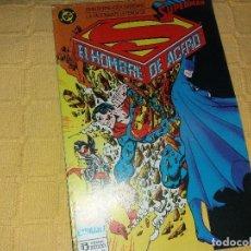Cómics: SUPERMAN.EL HOMBRE DE ACERO.NUMERO 3.EDICIONES ZINCO.. Lote 184047836