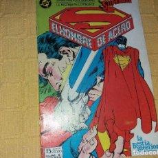 Cómics: SUPERMAN.EL HOMBRE DE ACERO.NUMERO 4.EDICIONES ZINCO.. Lote 184047935