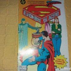 Cómics: SUPERMAN.EL HOMBRE DE ACERO.NUMERO 5.EDICIONES ZINCO.. Lote 184047995