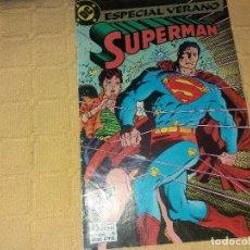 Cómics: SUPERMAN. .NUMERO 4.ESPECIAL VERANO.EDICIONES ZINCO.. Lote 184048317