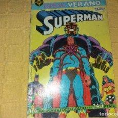 Cómics: SUPERMAN .ESPECIAL VERANO.EDICIONES ZINCO.. Lote 184048396
