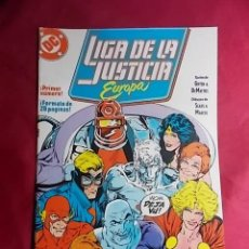 Cómics: LIGA DE LA JUSTICIA EUROPA. Nº 1. EDICIONES ZINCO. Lote 184306252