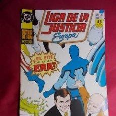 Cómics: LIGA DE LA JUSTICIA EUROPA. Nº 36. EDICIONES ZINCO. Lote 184310235