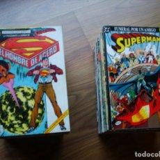 Cómics: SUPERMAN VOL. 2 Nº 1 AL 123 COLECCIÓN CASI COMPLETA (FALTAN 3) + ESPECIALES (TOTAL 129). Lote 184331600