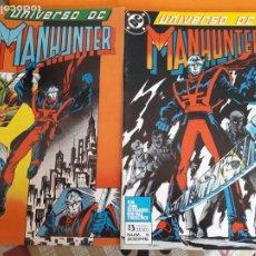 Cómics: UNIVERSO DC N-5 Y 6 MANHUNTER AÑO 1989. Lote 184480580
