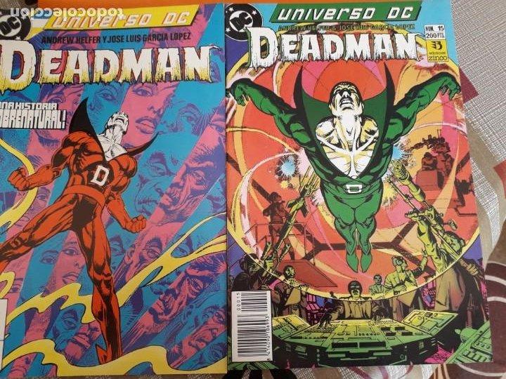 UNIVERSO DC DEADMAN N-14 Y 15 AÑO 1989 (Tebeos y Comics - Zinco - Batman)