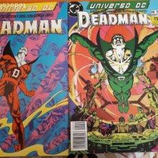 Cómics: UNIVERSO DC DEADMAN N-14 Y 15 AÑO 1989. Lote 184481196