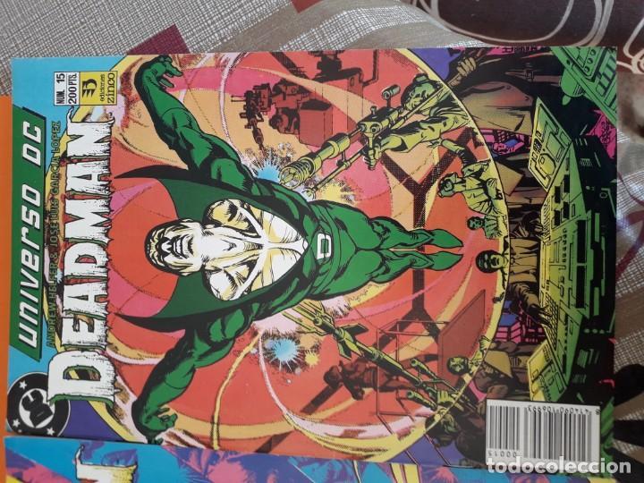 Cómics: UNIVERSO DC DEADMAN N-14 Y 15 AÑO 1989 - Foto 3 - 184481196