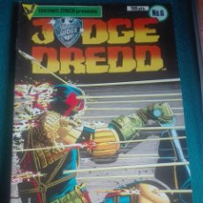 Cómics: JUDGE DREDD 6 # Y5. Lote 184774762