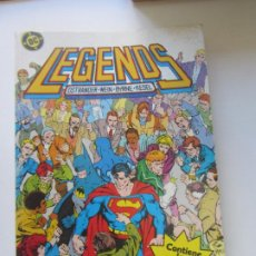 Cómics: LEGENDS - Nº 1 2 3 4 - DC RETAPADO ZINCO CS201. Lote 184780453