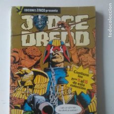 Cómics: JUDGE DREED Nº 3 RETAPADO Nº 12,13, 14 Y15 ZINCO 1985 . Lote 184870665