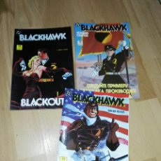 Cómics: 'BLACKHAWK' EDITORIAL ZINCO, COMPLETA. Lote 184874887