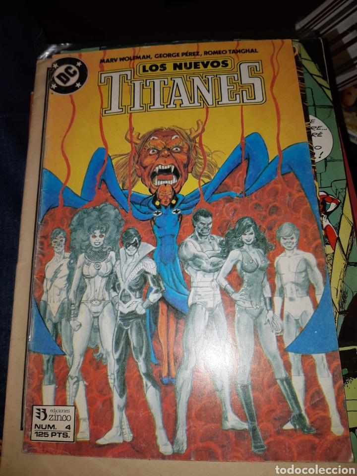 TEBEOS-CÓMICS CANDY - LOS NUEVOS TITANES 4 - ZINCO - AA98 (Tebeos y Comics - Zinco - Nuevos Titanes)