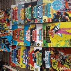 Cómics: BATMAN Y LOS OUTSIDERS 21 COMIC,CASI COMPLETA. Lote 185691715