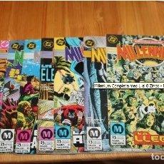 Cómics: MILLENNIUM COLECCION COMPLETA 8 NÚMEROS EDICIONES ZINCO 1987 DC COMICS. Lote 185722046