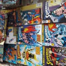 Cómics: SUPERMAN EL HOMBRE DE ACERO 12 COMICS. Lote 185741588