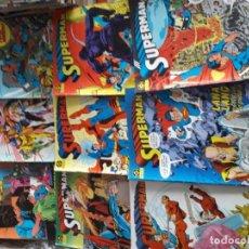 Cómics: SUPERMAN 9 COMICS. Lote 185742421