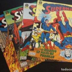 Cómics: SUPERMAN VOL.1 (1984) ZINCO LOTE 4 NÚMEROS: 10,11,12,18. Lote 185745206