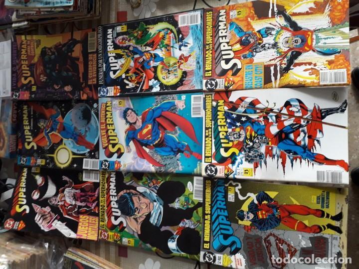 SUPERMAN 8 COMICS (Tebeos y Comics - Zinco - Superman)