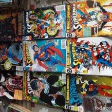 Cómics: SUPERMAN 8 COMICS. Lote 185745937