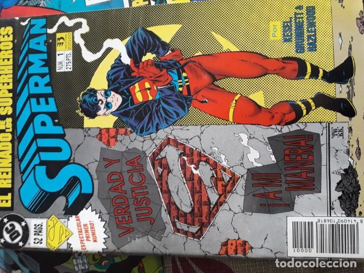 Cómics: SUPERMAN 8 COMICS - Foto 2 - 185745937