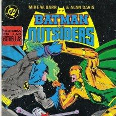 Cómics: BATMAN Y LOS OUTSIDERS 20. Lote 185919795