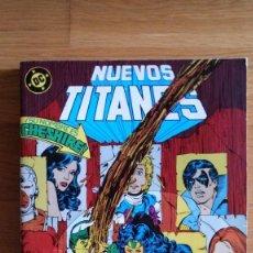 Cómics: NUEVOS TITANES 43, 44, 45, 46 Y 47 (RETAPADO). Lote 185962562
