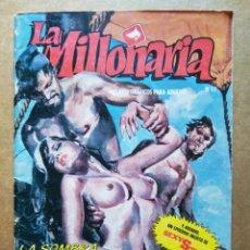 Cómics: LA MILLONARIA N°17. RELATOS GRÁFICOS PARA ADULTOS (ZINCO, 1988).. Lote 185984773