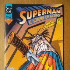 Cómics: SUPERMAN EL HOMBRE DE ACERO N°33 (ZINCO, 1996). POR SIMONSON, BOGDANOVE, JURGEN Y KANE. 52 PÁGINAS.. Lote 186044735