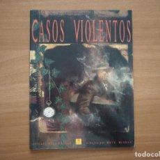 Cómics: CASOS VIOLENTOS - NEIL GAIMAN & DAVE MCKEAN. Lote 186062582