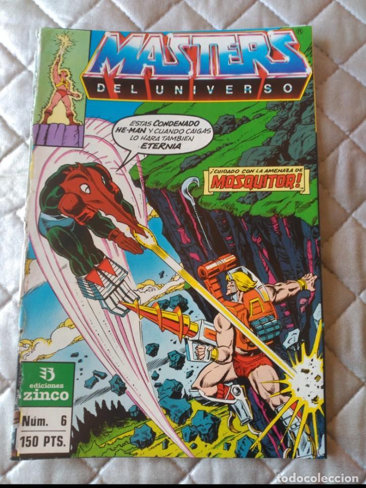 MASTERS DEL UNIVERSO Nº 6 DIFÍCIL (Tebeos y Comics - Zinco - Otros)