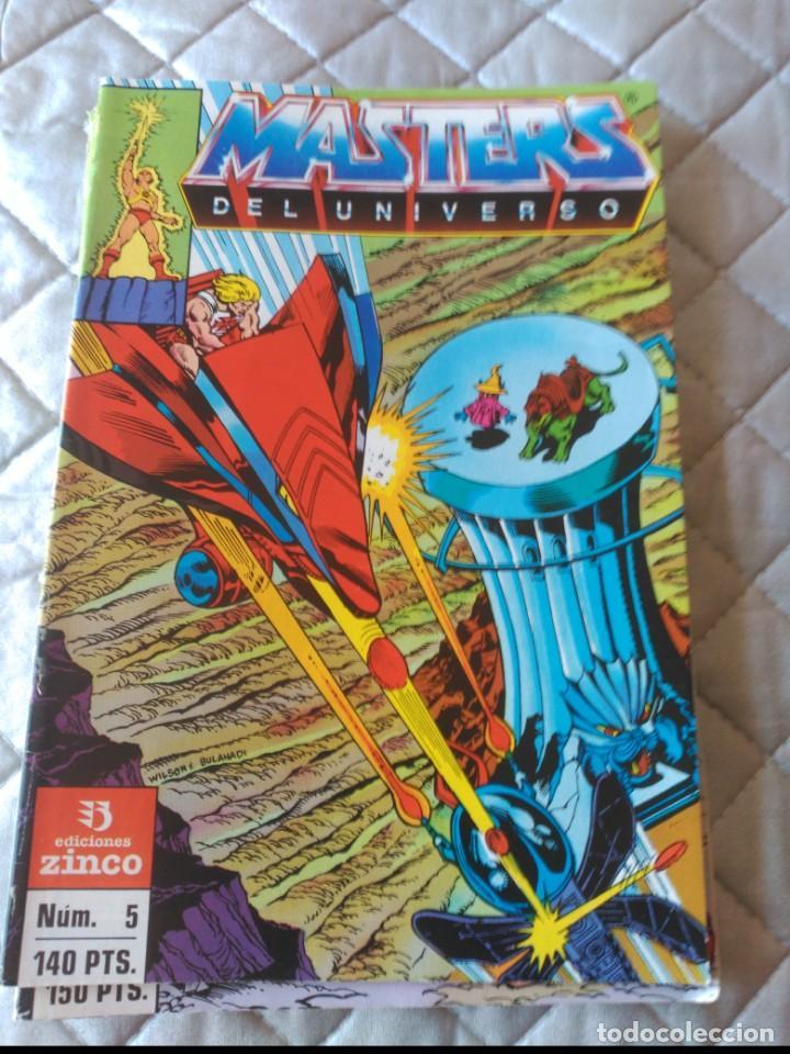 MASTERS DEL UNIVERSO Nº 5 (Tebeos y Comics - Zinco - Otros)