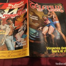 Cómics: TELEFILM PROHIBIDO Nº 16 UN CASO CALIENTE - EDICIONES ZINCO 1985. 110 PTS. Lote 186085270