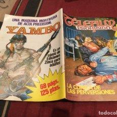 Cómics: TELEFILM PROHIBIDO Nº 25 LA CAZA DEL ASESINO. - EDICIONES ZINCO 1985. 125 PTS. Lote 186086450