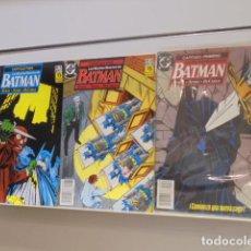 Cómics: BATMAN LAS MUCHAS MUERTES DE BATMAN MINISERIE COMPLETA Nº 33-34 Y 35 DE BATMAN - ZINCO. Lote 186171815