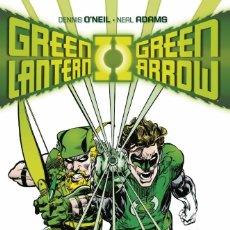 Cómics: GREEN LANTERN / GREEN ARROW DE NEAL ADAMS - ECC / DC TAPA DURA. Lote 186255663