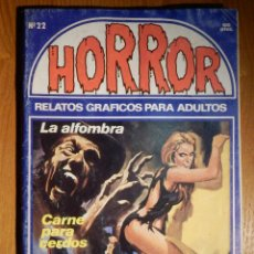 Comics: COMIC - RELATOS GRÁFICOS PARA ADULTOS - HORROR - Nº 22 - EDICIONES ZINCO. Lote 186279343