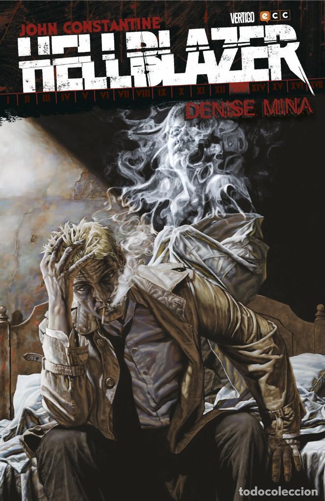 HELLBLAZER DE DENISE MINA - ECC / DC VERTIGO / TAPA DURA (Tebeos y Comics - Zinco - Prestiges y Tomos)
