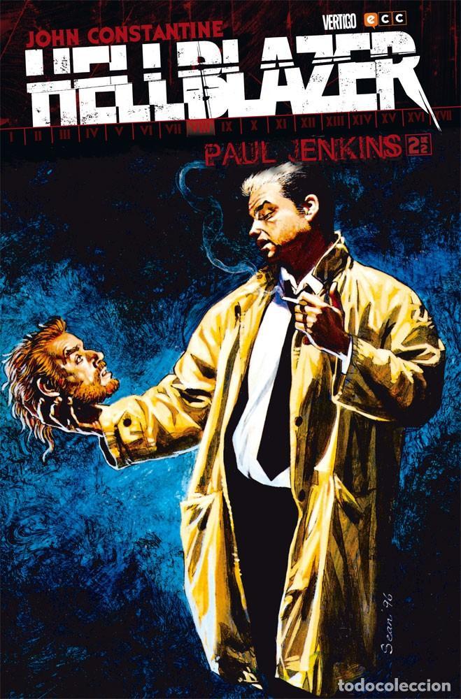 HELLBLAZER DE PAUL JENKINS 2 - ECC / DC VERTIGO / TAPA DURA (Tebeos y Comics - Zinco - Prestiges y Tomos)