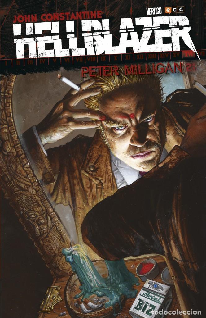 HELLBLAZER DE PETER MILLIGAN 2 - ECC / DC VERTIGO / TAPA DURA (Tebeos y Comics - Zinco - Prestiges y Tomos)