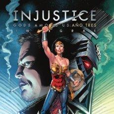 Cómics: INJUSTICE AÑO TRES - ECC / DC TAPA DURA. Lote 187264510