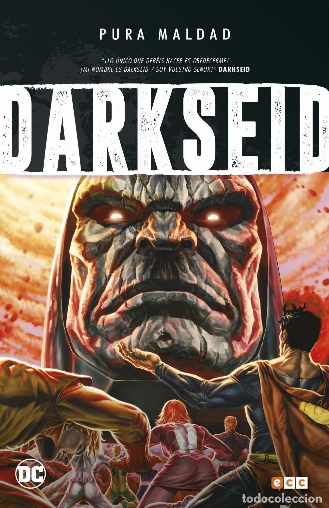 PURA MALDAD : DARKSEID - ECC / DC TAPA DURA (Tebeos y Comics - Zinco - Prestiges y Tomos)