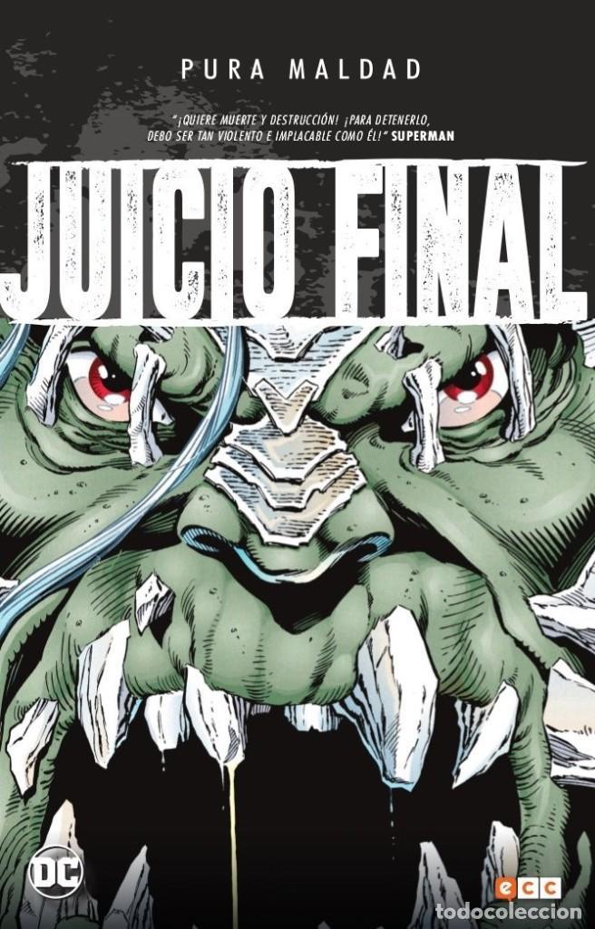 PURA MALDAD : JUICIO FINAL - ECC / DC TAPA DURA (Tebeos y Comics - Zinco - Prestiges y Tomos)
