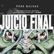 Cómics: PURA MALDAD : JUICIO FINAL - ECC / DC TAPA DURA. Lote 187278892