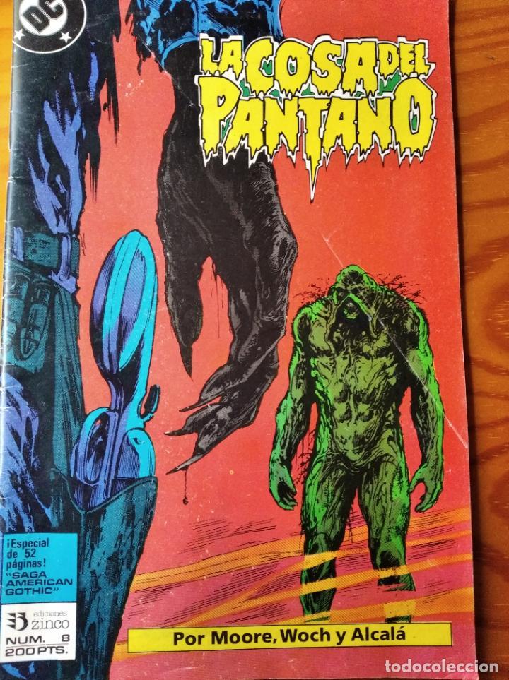 LA COSA DEL PANTANO Nº 8, ALAN MOORE/ WOCH & ALCALA- DC COMICS ZINCO- (Tebeos y Comics - Zinco - Cosa del Pantano)