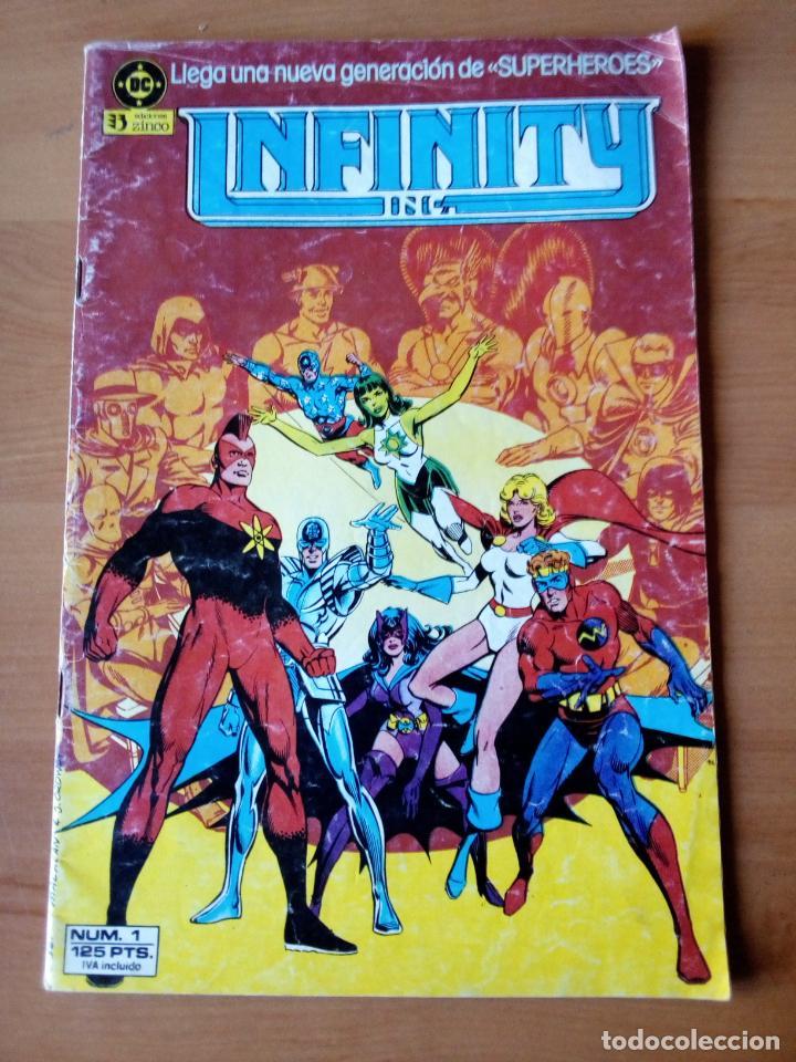 INFINITY INC 1 (Tebeos y Comics - Zinco - Infinity Inc)