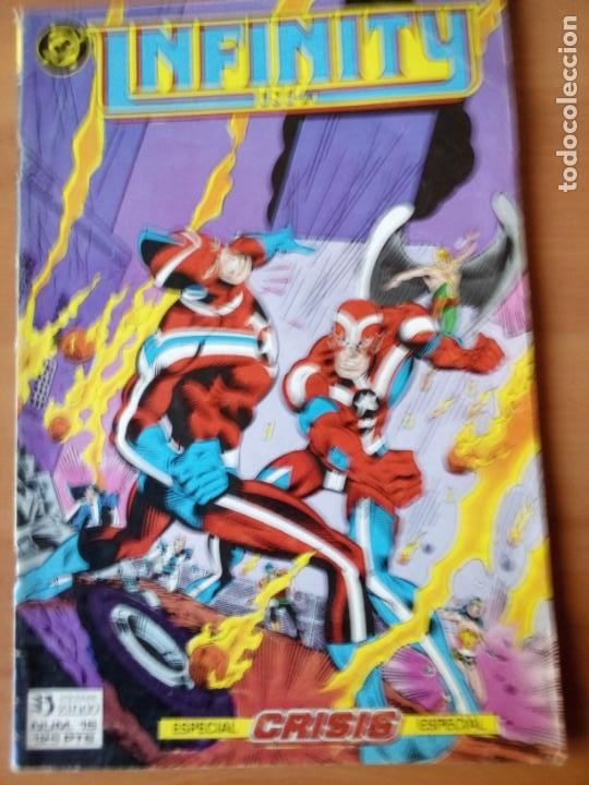 INFINITY INC 15 (Tebeos y Comics - Zinco - Infinity Inc)